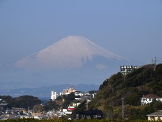 A partir do quarto, pode-se admirar o Monte Fuji... em grande!
