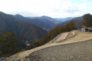 Le chemin Kohechi au col de Hatenashi