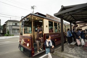 The Loople Sendai sightseeing bus highlights some of the city's major tourist attractions