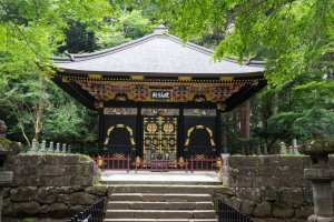 Zuihoden, the mausoleum of Date Masamune
