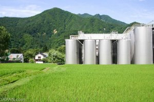 One of the largest Sake production facilities in Niigata