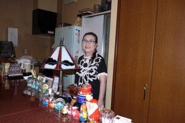Ms. Nakagawa, owner of Penny Lane