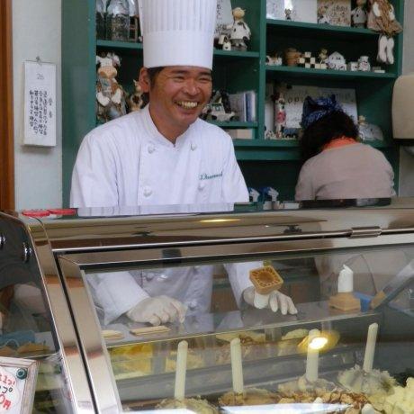 Copio Gelato Shop in Ushimado