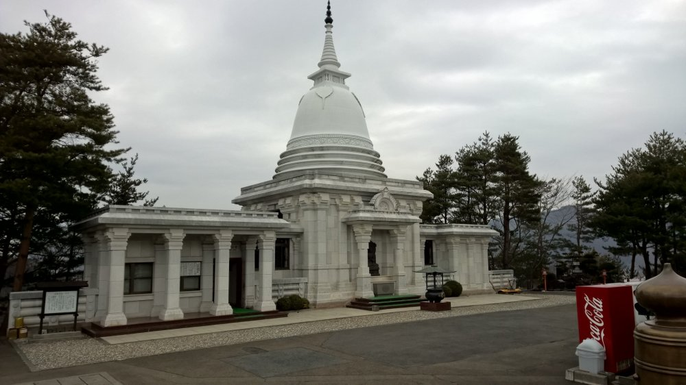 The Sri Lankan pagoda