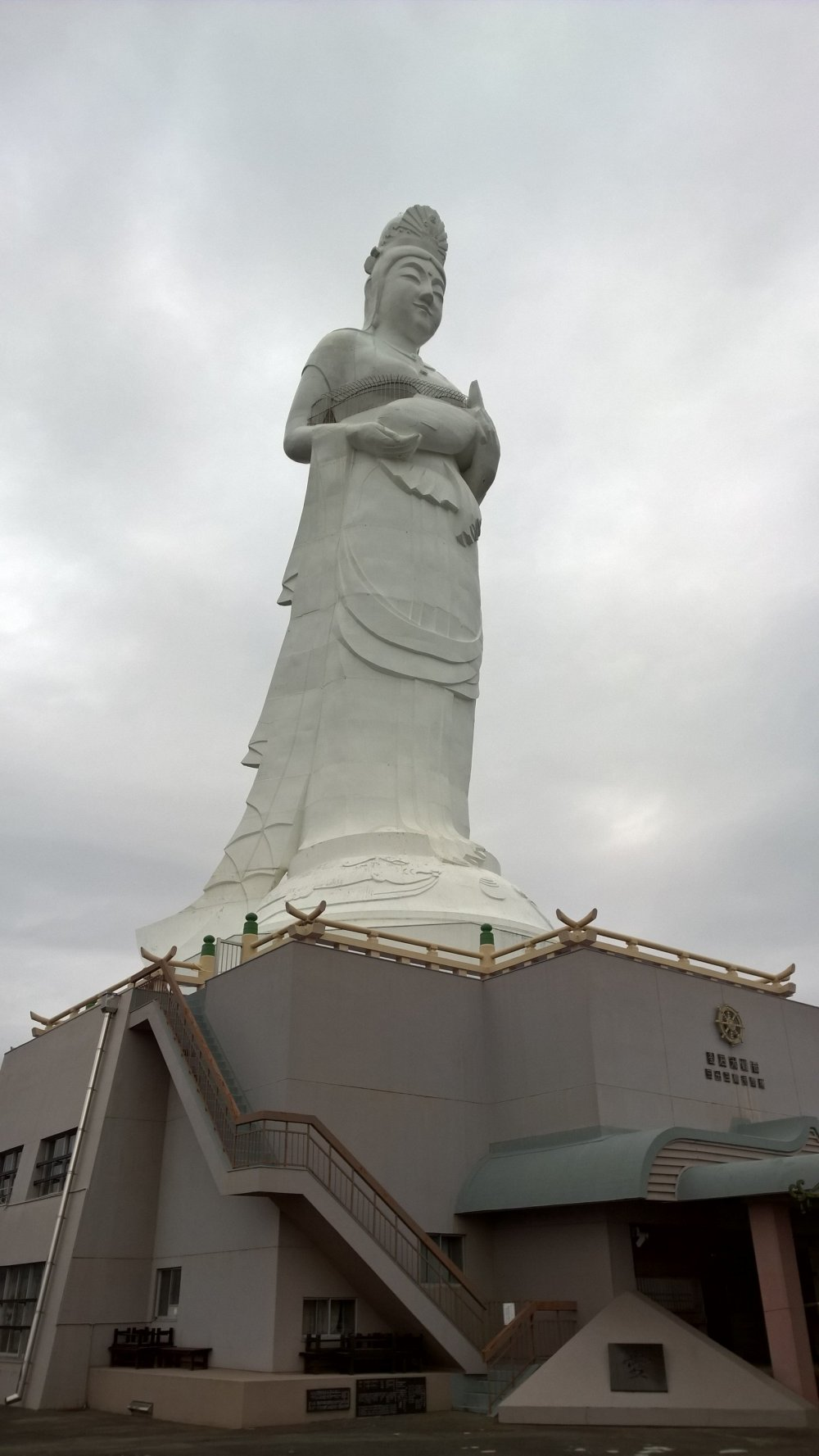 The big Kannon, notice the sea connection