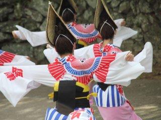 Yakko style, a unique dance style of Aho Ren