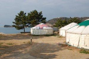 Làng yurt Mông Cổ
