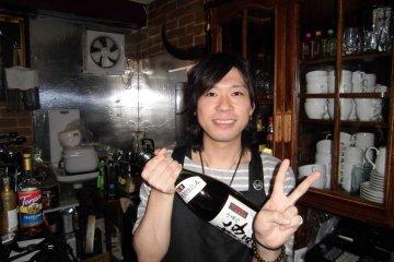 Mickey House's friendly barman