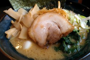 Miso Tonkotsu Ramen with menma topping
