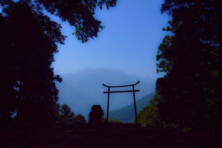 横峰寺の遍路ころがし