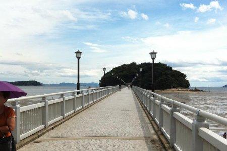 เกาะทะเคะชิมะใกล้กับอะอิชิ