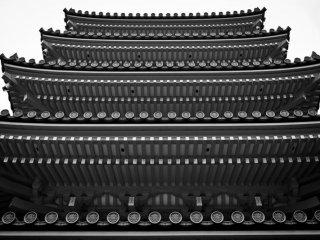 Tochoji temple's five story pagoda