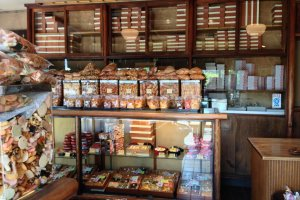 Go back in time at Funahashiya's family store.