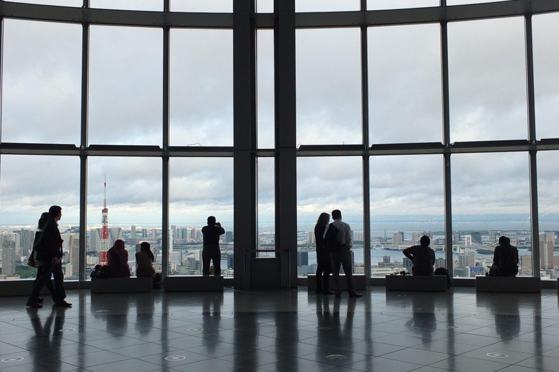 มุมยอดนิยมที่สุดของผู้คนที่เข้ามาชม Tokyo City View