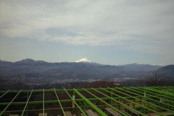 Mt. Fuji from Mt. Jimba