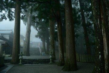 วัด Shousan-ji ในฤดูใบไม้ผลิ