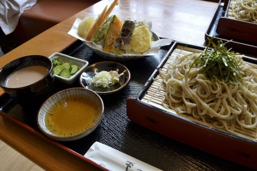 Soba is a local staple and some of the best in the prefecture
