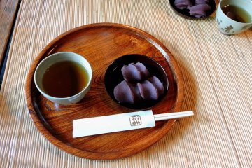 Tea and Sweets at Akafuku