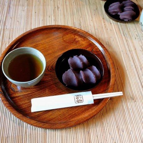 Tea and Sweets at Akafuku
