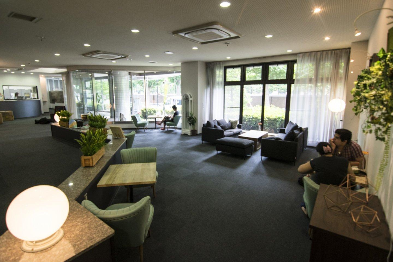 媲美酒店水准的舒适前厅。