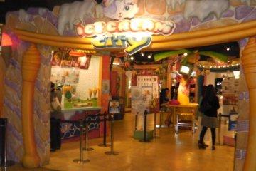Ice Cream City in Namja Town