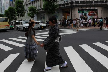 In Shibuya, I tried to capture something interesting that would tell a story. I am so pleased to capture tradition in a place so modern, showing how culture and modernitylives peacefully side by side in Tokyo.