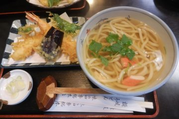 Sanuki udon and Ritsurin Gardens