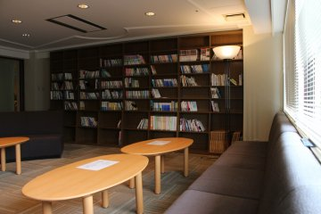 <p>The library is free to use for the residents</p>