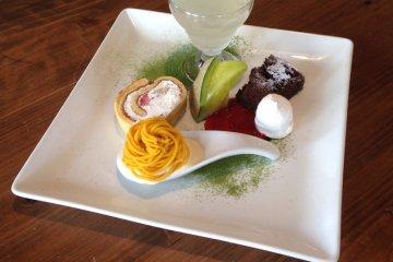 <p>Dessert Sampler</p>