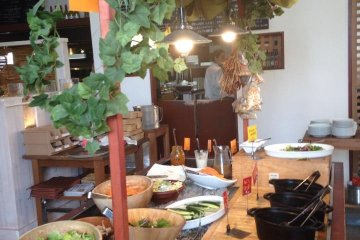<p>Salad Bar View</p>