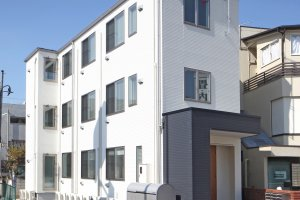 這裡有24間客房,公寓外觀