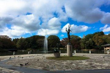 <p>The Main Fountain</p>
