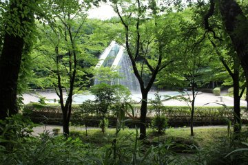 <p>It is nice to see it through trees and hear the water gushing</p>
