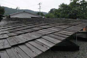Signature roof of Shima Kitchen
