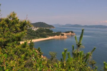 View of the Inland Sea from the Setouchi Art Islands