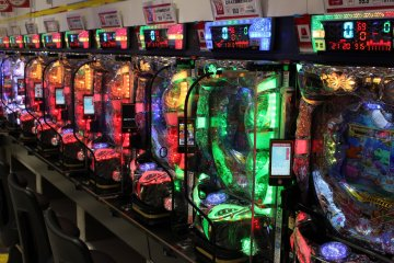 <p>The colorful world of pachinko</p>