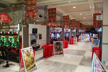<p>A look down the aisles. Over 1100 machines available for use.</p>