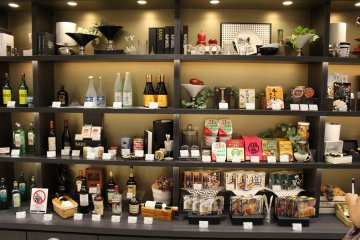 <p>There are all sorts of prizes to exchange for, many focused on tourists. Here are some food and drink items, but there are also electronics, clothing goods and much more.</p>