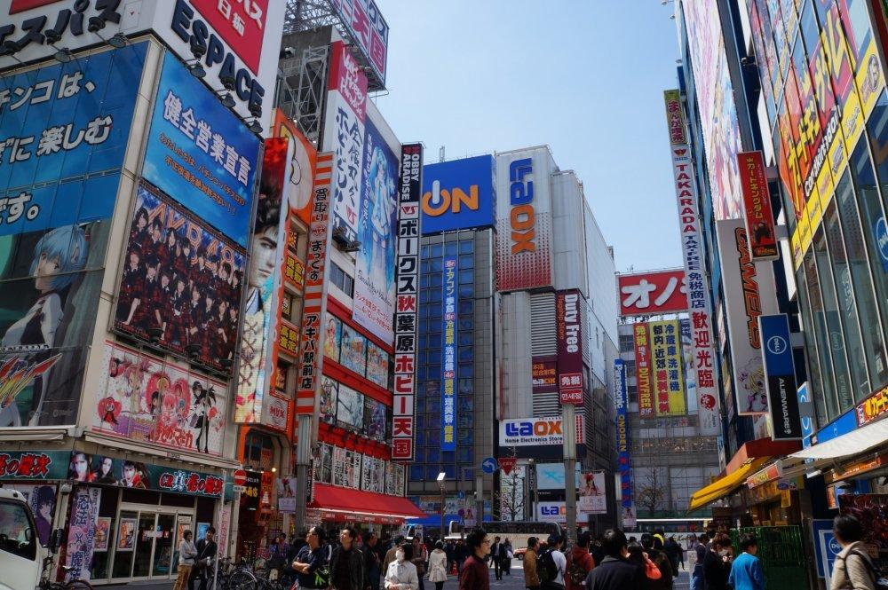 Akihabara in one word: Cool!