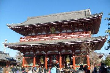 <p>El templo Senso-ji</p>