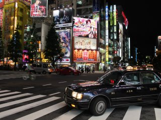 Akihabara at night - one of Tokyo's many jewels
