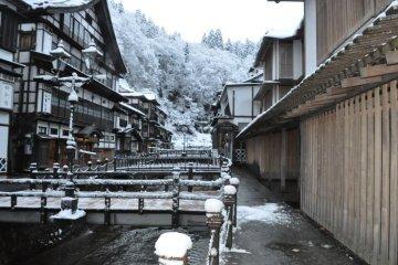 Ginzan Onsen district