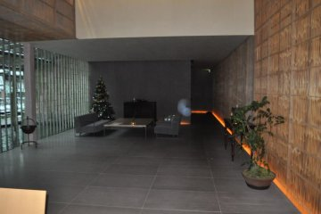 Front lobby area
