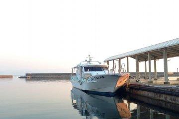 Takamatsu to Teshima by Ferry Boat