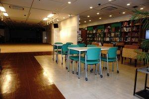 Ruang serbaguna yang digunakan untuk melakukan berbagai event
