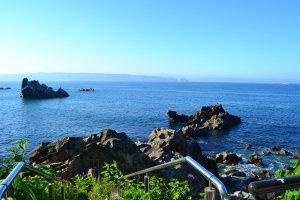 Prefektur Iwate berbatasan langsung dengan Samudra Pasifik