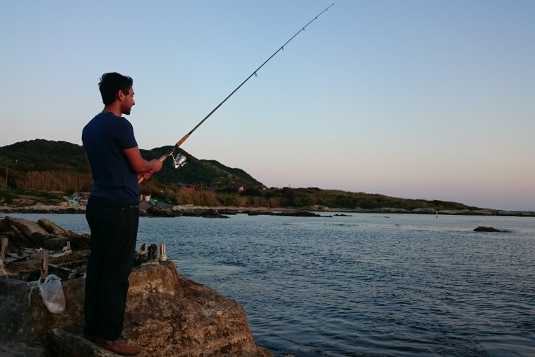 ตกปลาในทะเทะยะมะ