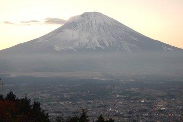 Mt.Fuji and Lake Yamanaka