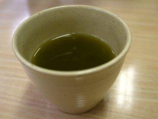 Teh hijau dapat dibuat sesuai cita rasa yang diinginkan