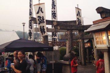 <p>元岡八坂神社祇園祭</p>